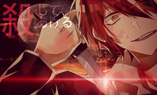 Tags: Anime, Pixiv Id 9239859, Ansatsu Kyoushitsu, Akabane Karma, Pixiv, Fanart, Fanart From Pixiv, PNG Conversion