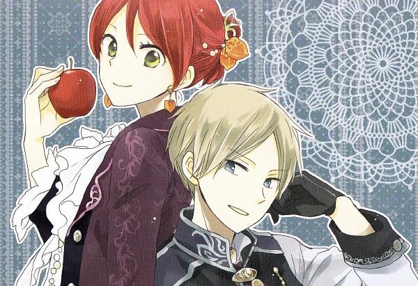 Tags: Anime, Akizuki Sorata, Akagami no Shirayukihime, Zen Wistalia, Shirayuki (Akagami no Shirayukihime), Official Art, Scan