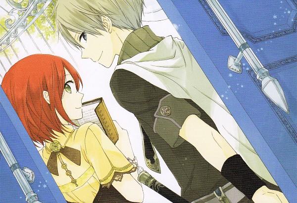 Tags: Anime, Akizuki Sorata, Akagami no Shirayukihime, Shirayuki (Akagami no Shirayukihime), Zen Wistalia, Scan, Official Art