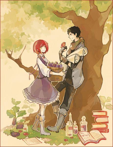 Tags: Anime, Sera1023, Akagami no Shirayukihime, Obi (Akagami no Shirayukihime), Shirayuki (Akagami no Shirayukihime)