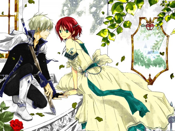 Tags: Anime, Akagami no Shirayukihime, Shirayuki (Akagami no Shirayukihime), Zen Wistalia, deviantART, Artist Request, Colorization