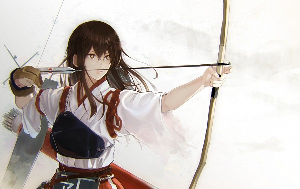 Tags: Anime, Tsuji Fuutarou, Kantai Collection, Akagi (Kantai Collection), Pixiv, Fanart, Fanart From Pixiv, PNG Conversion