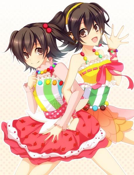 Tags: Anime, Pixiv Id 43292, THE iDOLM@STER: Cinderella Girls, Akagi Miria, Miria Akagi