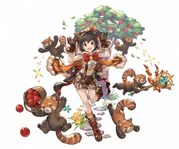 Tags: Anime, Minaba Hideo, Cygames, THE iDOLM@STER: Cinderella Girls, Granblue Fantasy, Akagi Miria, PNG Conversion, Official Art, Cover Image, Miria Akagi