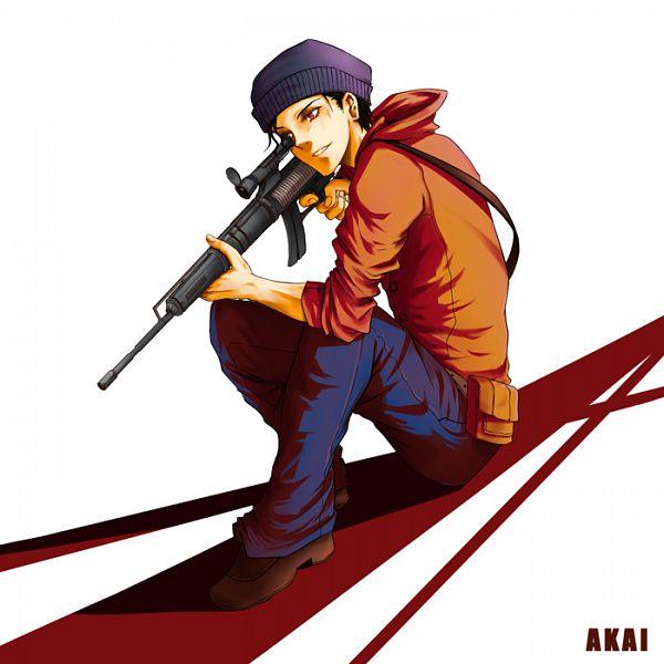 Tags: Anime, Pixiv Id 650078, Meitantei Conan, Akai Shuuichi, Pixiv, Fanart