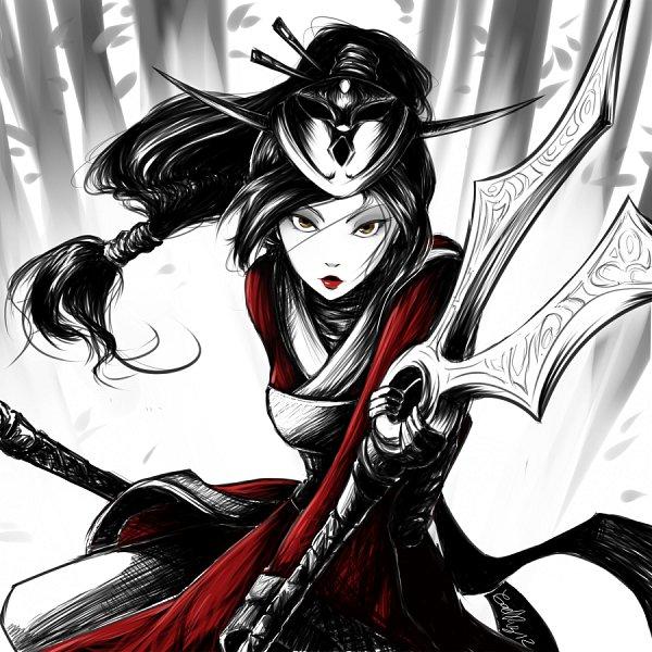 Tags: Anime, Gaby14link, League of Legends, Akali, Pixiv, Fanart From DeviantART, Fanart, deviantART
