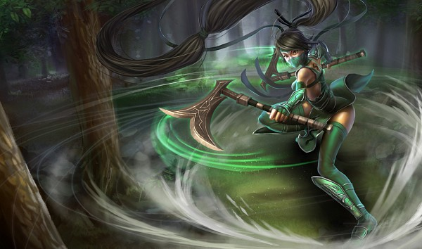 Tags: Anime, Riot Games, League of Legends, Akali, Official Art