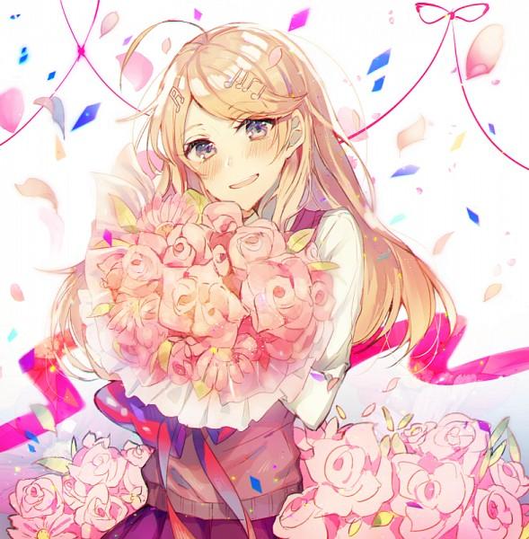 Tags: Anime, Pixiv Id 11729207, New Danganronpa V3, Akamatsu Kaede, PNG Conversion, Pixiv, Fanart, Fanart From Pixiv