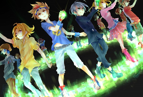Akashi Tagiru - Digimon Xros Wars