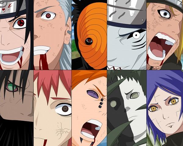 Tags: Anime, Deviant-003, NOIR, NARUTO, Zetsu, Tobi, Kakuzu, Hidan, Konan, Sasori, Uchiha Itachi, Deidara, Pein