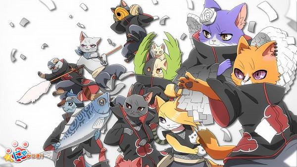 Tags: Anime, Mackerel (Artist), NARUTO, Pein, Uchiha Itachi, Deidara, Hoshigaki Kisame, Tobi, Zetsu, Hidan, Kakuzu, Konan, Sasori