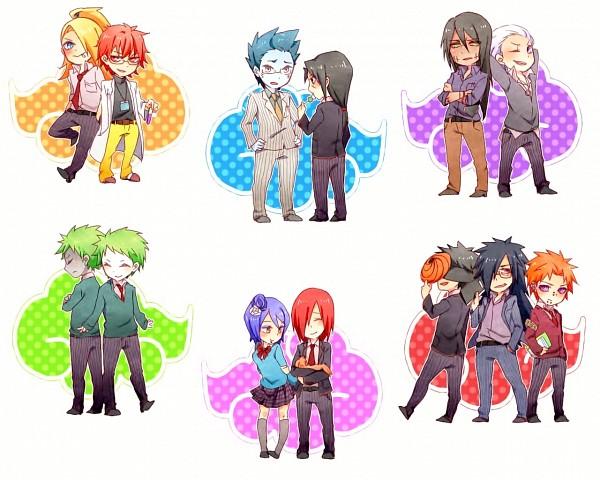 Tags: Anime, Pixiv Id 6439572, NARUTO, Konan, Nagato (NARUTO), Deidara, Pein, Uchiha Itachi, Hoshigaki Kisame, Tobi, Uchiha Obito, Zetsu, Hidan