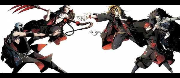 Tags: Anime, Pixiv Id 1569568, NARUTO, Sandaime Kazekage, Sasori, Deidara, Kakuzu, Hidan, Pixiv, Fanart, Fanart From Pixiv, Facebook Cover, Akatsuki (NARUTO)