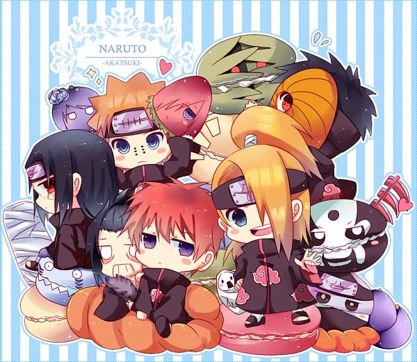 Tags: Anime, Pixiv Id 1322292, NARUTO, Deidara, Uchiha Obito, Konan, Pein, Uchiha Itachi, Nagato (NARUTO), Hoshigaki Kisame, Hidan, Zetsu, Sasori
