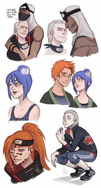 Tags: Anime, NARUTO: SHIPPŪDEN, NARUTO, Kakuzu, Konan, Hidan, Yahiko, Akatsuki (NARUTO)