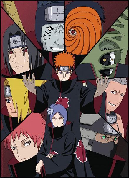 Tags: Anime, Meshugene89, NARUTO, Tobi, Hoshigaki Kisame, Hidan, Kakuzu, Sasori, Konan, Deidara, Uchiha Madara, Uchiha Itachi, Pein