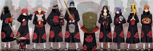 Tags: Anime, Pixiv Id 884163, Hoshigaki Kisame, Zetsu, Sasori, Uchiha Itachi, Deidara, Tobi, Hidan, Pixiv, Twitter Header, Akatsuki (NARUTO), Kiri no Shinobigatana Shichinin Shuu