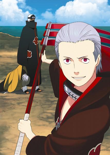 Tags: Anime, NARUTO, Hidan, Mobile Wallpaper, Artist Request, Akatsuki (NARUTO)