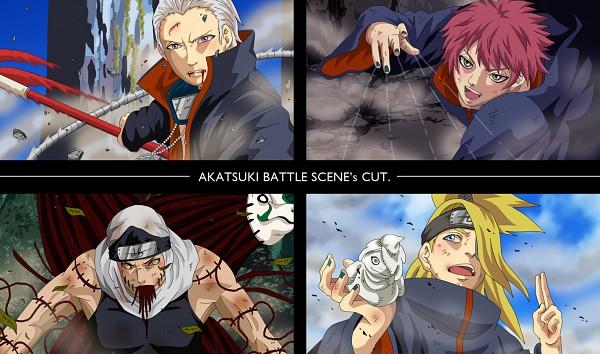 Tags: Anime, NARUTO, Deidara, Kakuzu, Hidan, Sasori, Akatsuki (NARUTO)