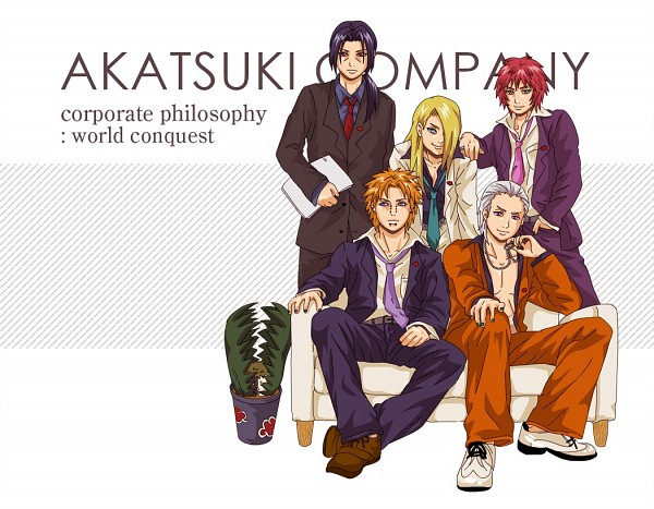 Tags: Anime, NARUTO, Zetsu, Uchiha Itachi, Hidan, Sasori, Pein, Deidara, Multi-colored Skin, Fanart, Artist Request, Akatsuki (NARUTO)