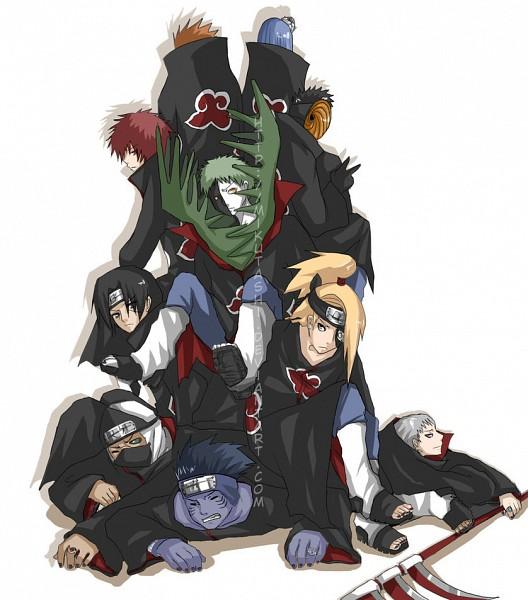Tags: Anime, NARUTO, Zetsu, Hidan, Kakuzu, Sasori, Konan, Deidara, Pein, Uchiha Itachi, Hoshigaki Kisame, Tobi, Multi-colored Skin