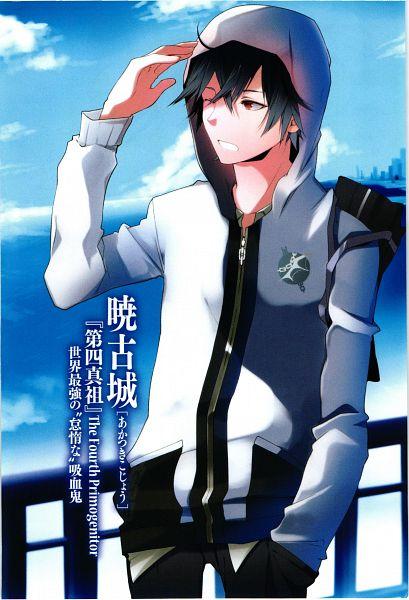 Tags: Anime, Manya (Mohu Is-mine), Strike The Blood, Akatsuki Kojou, Novel Illustration, Mobile Wallpaper, Official Art, Scan
