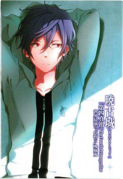 Tags: Anime, Manya (Mohu Is-mine), Strike The Blood, Akatsuki Kojou, Novel Illustration, Official Art, Scan