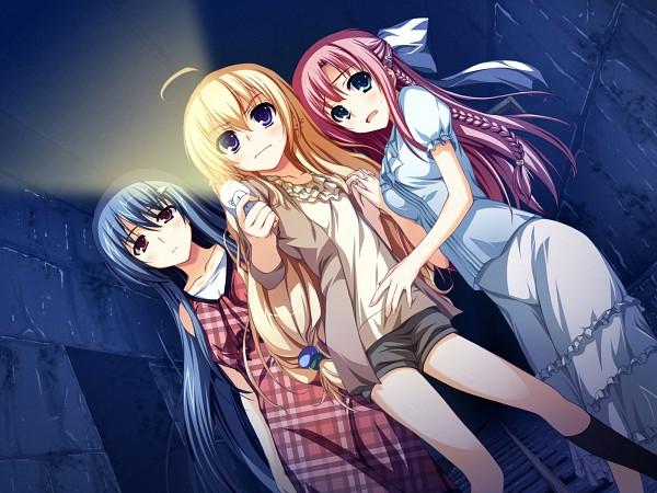 Tags: Anime, Tomose Shunsaku, Akatsuki no Goei, Kanzaki Moe, Kurayashiki Tae, Nikaidoh Aya, CG Art, Guard Of Daybreak