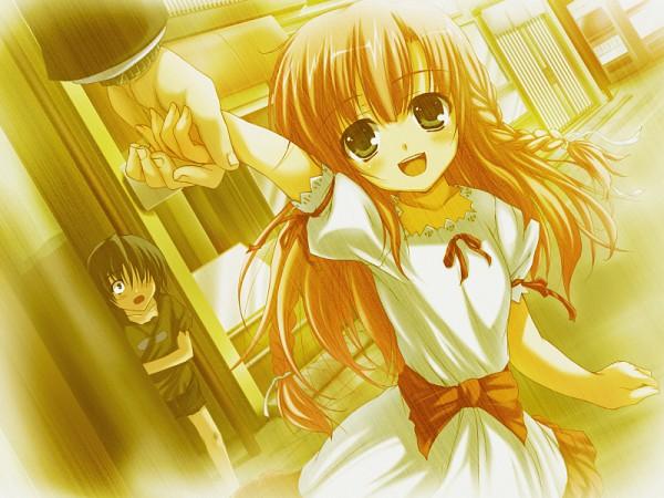 Tags: Anime, Tomose Shunsaku, Akatsuki no Goei, Asagiri Kaito, Nikaidoh Aya, CG Art, Guard Of Daybreak