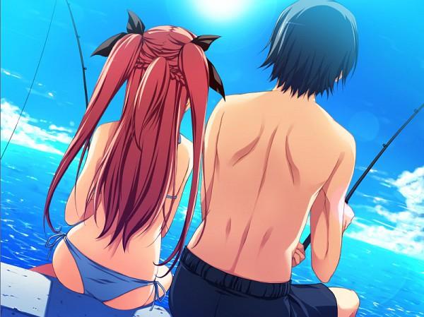 Tags: Anime, Akatsuki no Goei, Nikaidoh Reika, CG Art, Guard Of Daybreak
