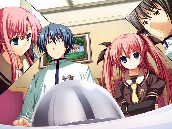 Tags: Anime, Tomose Shunsaku, Akatsuki no Goei, Asagiri Kaito, Nikaidoh Aya, Nikaidoh Reika, Miyagawa Takanori, CG Art, Guard Of Daybreak