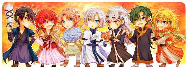 Tags: Anime, Shio (108), Akatsuki no Yona, Yona (Akatsuki no Yona), Jae-Ha (Akatsuki no Yona), Zeno (Akatsuki no Yona), Son Hak, Yoon (Akatsuki no Yona), Ao (Akatsuki no Yona), Ki-Ja (Akatsuki no Yona), Shin-Ah (Akatsuki no Yona), Squirrel, Facebook Cover, Yona Of The Dawn