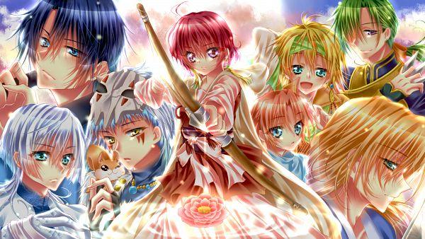 Tags: Anime, Pixiv Id 6798622, Akatsuki no Yona, Soo-won (Akatsuki no Yona), Jae-Ha (Akatsuki no Yona), Yona (Akatsuki no Yona), Zeno (Akatsuki no Yona), Ao (Akatsuki no Yona), Yoon (Akatsuki no Yona), Son Hak, Ki-Ja (Akatsuki no Yona), Shin-Ah (Akatsuki no Yona), Pixiv, Yona Of The Dawn
