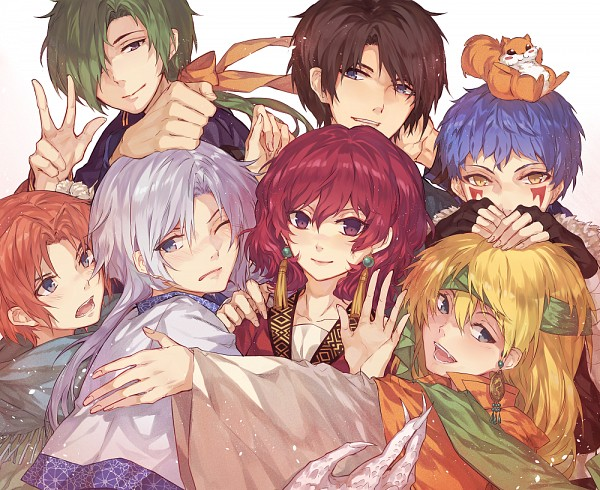 Tags: Anime, Kanekiru, Akatsuki no Yona, Jae-Ha (Akatsuki no Yona), Zeno (Akatsuki no Yona), Son Hak, Ao (Akatsuki no Yona), Yoon (Akatsuki no Yona), Ki-Ja (Akatsuki no Yona), Shin-Ah (Akatsuki no Yona), Yona (Akatsuki no Yona), Squirrel, deviantART, Yona Of The Dawn