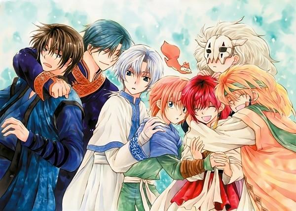 Tags: Anime, Kusanagi Mizuho, Akatsuki no Yona, Ki-Ja (Akatsuki no Yona), Shin-Ah (Akatsuki no Yona), Yona (Akatsuki no Yona), Jae-Ha (Akatsuki no Yona), Zeno (Akatsuki no Yona), Son Hak, Yoon (Akatsuki no Yona), Ao (Akatsuki no Yona), Official Art, Yona Of The Dawn