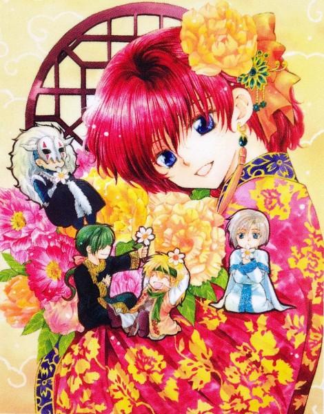 Tags: Anime, Kusanagi Mizuho, Akatsuki no Yona, Jae-Ha (Akatsuki no Yona), Zeno (Akatsuki no Yona), Ki-Ja (Akatsuki no Yona), Yona (Akatsuki no Yona), Shin-Ah (Akatsuki no Yona), Official Art, Yona Of The Dawn
