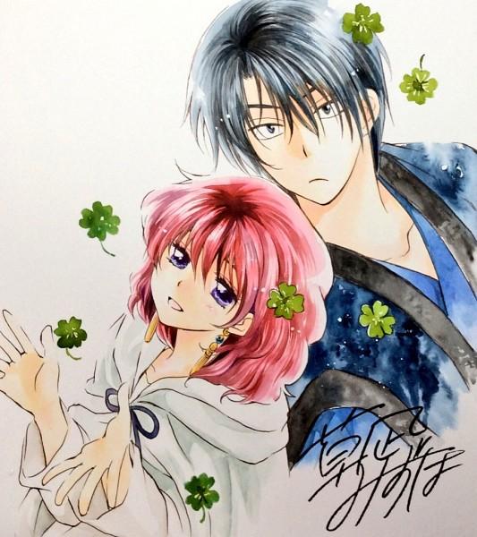 Tags: Anime, Kusanagi Mizuho, Akatsuki no Yona, Yona (Akatsuki no Yona), Son Hak, Trebol, Official Art, Yona Of The Dawn