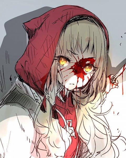 Tags: Anime, Pixiv Id 12789650, SINoALICE, Akazukin (SINoALICE), Blood On Weapons, Twitter, Sketch, Fanart
