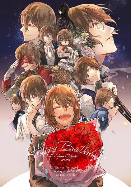 Tags: Anime, Shinsu.Ke, Shin Megami Tensei: PERSONA 5, Black Mask (Persona 5), Crow (Persona 5), Akechi Goro, Fanart From Pixiv, Pixiv, Fanart