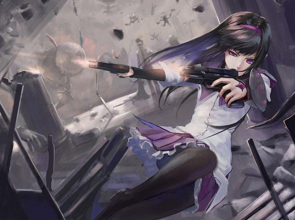 Tags: Anime, Mizore Akihiro, Mahou Shoujo Madoka☆Magica, Charlotte (Madoka Magica), Akemi Homura