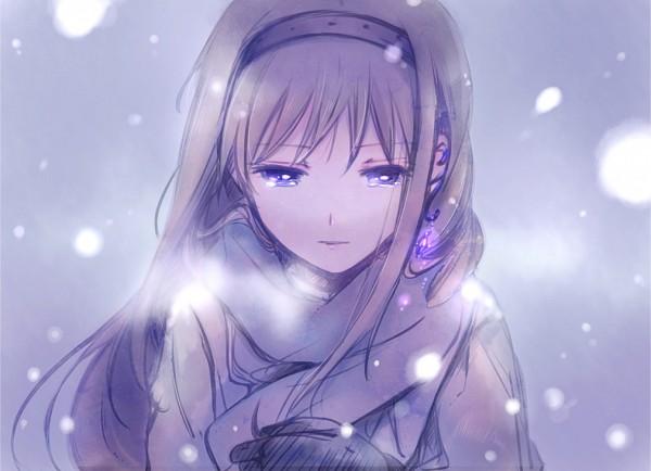 Tags: Anime, Yamada Ako, Mahou Shoujo Madoka☆Magica, Akemi Homura, Pixiv, Fanart, Fanart From Pixiv