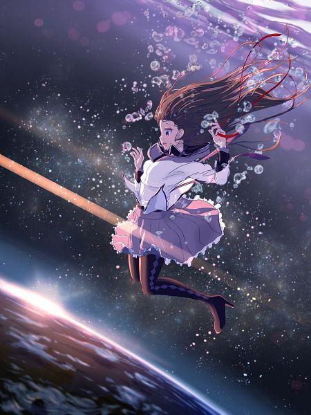 Tags: Anime, Pixiv Id 3554762, Mahou Shoujo Madoka☆Magica, Akemi Homura, Pixiv, Fanart, Fanart From Pixiv