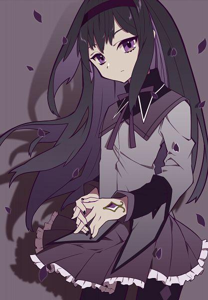 Tags: Anime, Pixiv Id 10654389, Mahou Shoujo Madoka☆Magica, Akemi Homura, Fanart, Fanart From Pixiv, Pixiv
