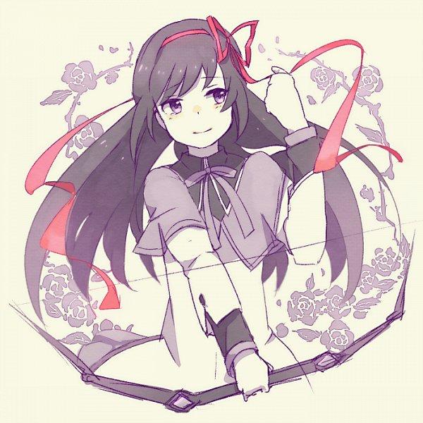 Tags: Anime, Anko (W-anco), Mahou Shoujo Madoka☆Magica, Akemi Homura, Fanart