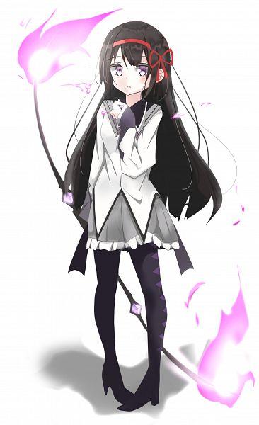Tags: Anime, Pixiv Id 38740835, Mahou Shoujo Madoka☆Magica, Akemi Homura, Pixiv, Fanart, Fanart From Pixiv