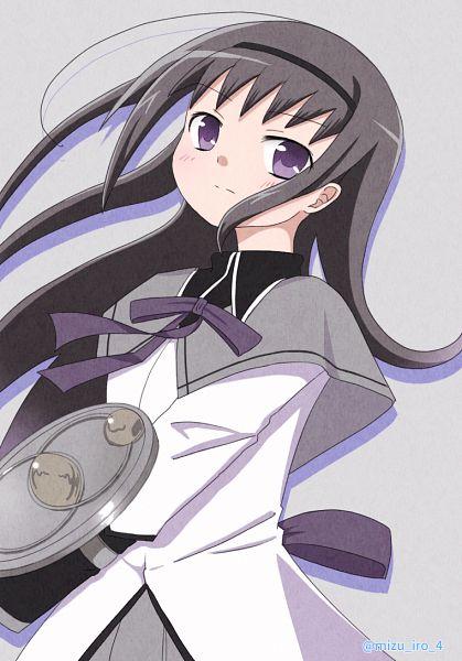Tags: Anime, Pixiv Id 55591253, Mahou Shoujo Madoka☆Magica, Akemi Homura, Fanart, Fanart From Pixiv, Pixiv