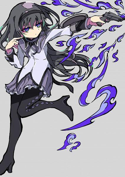 Tags: Anime, Pixiv Id 29700740, Mahou Shoujo Madoka☆Magica, Magia Record: Mahou Shoujo Madoka☆Magica Gaiden, Akemi Homura, Fanart, Fanart From Pixiv, Pixiv