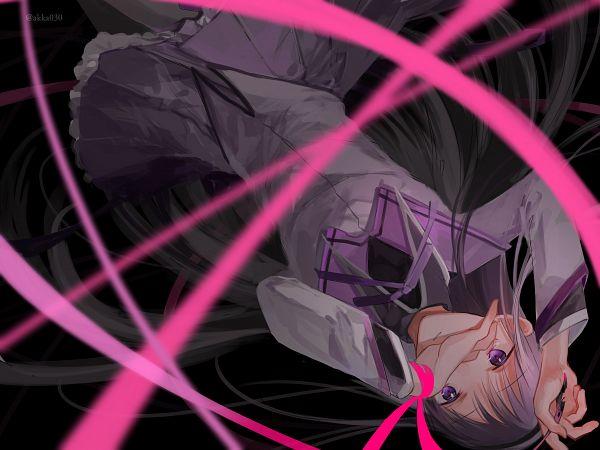 Tags: Anime, Pixiv Id 7751155, Mahou Shoujo Madoka☆Magica, Akemi Homura, Pixiv, Fanart, Fanart From Pixiv