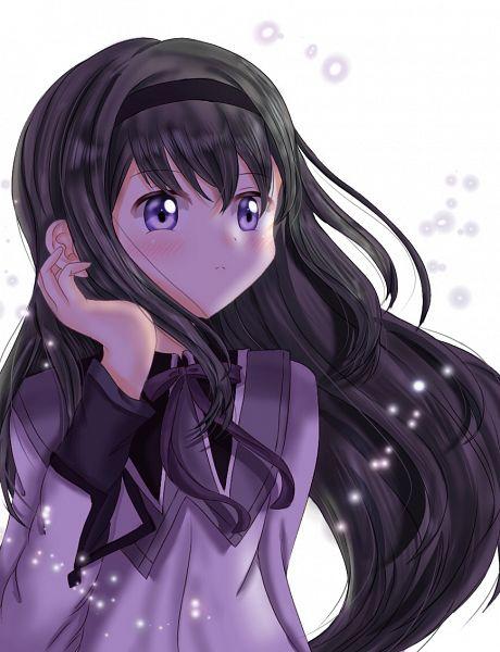 Tags: Anime, Pixiv Id 58304520, Mahou Shoujo Madoka☆Magica, Akemi Homura, Pixiv, Fanart, Fanart From Pixiv
