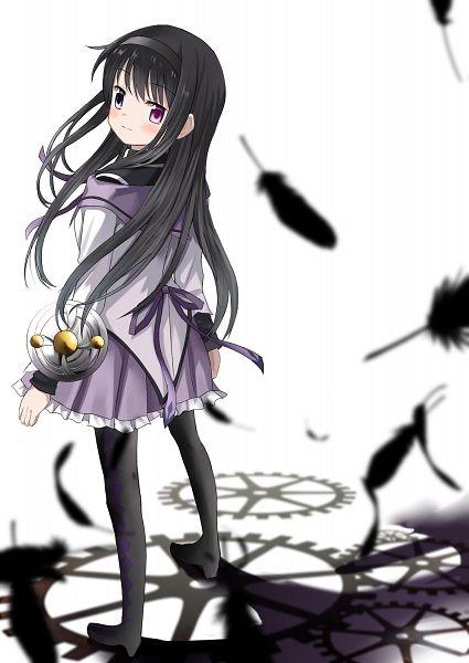 Tags: Anime, Pixiv Id 1914595, Mahou Shoujo Madoka☆Magica, Akemi Homura, Pixiv, Fanart, Fanart From Pixiv